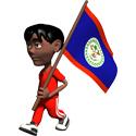 3D Belize T-shirts