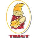 Cartoon Tibet T-shirt