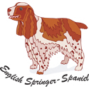 English Springer Spaniel T-shirt, Spaniel T-shirts
