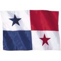 Wavy Panama Flag