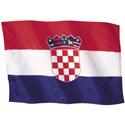 Wavy Croatia Flag