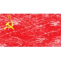 Vintage Soviet Flag