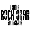 Rock Star In Nigeria T-shirt