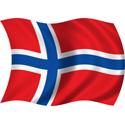 Wavy Norway Flag