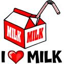 Milk T-shirt, Milk T-shirts