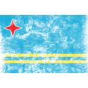 Vintage Aruba Flag