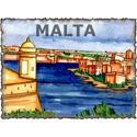 Vintage Malta Art