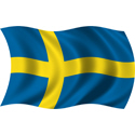 Wavy Sweden Flag
