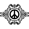 Symmetrical Peace Symbol