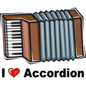 Accordion T-shirt. Accordion T-shirts