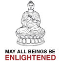 May All Beings Be Enlightened T-shirt & Gift