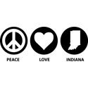 Peace Love Indiana