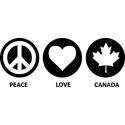 Peace Love Canada