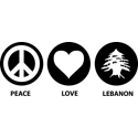 Peace Love Lebanon