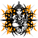 Stylized Ganesha
