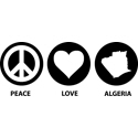 Peace Love Algeria