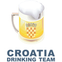 Croatia Drinking Team
