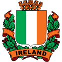 Stylish Ireland Crest
