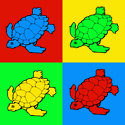 Pop Art Turtle