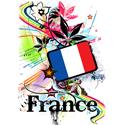 Psychedelic France T-shirt