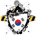 DJ South Korea T-shirt