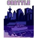 Seattle T-shirt, Seattle T-shirts