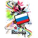 Flower Russia T-shirts