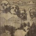 Vintage Mount Rushmore