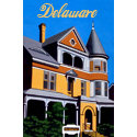 Hand Painted Delaware T-shirts