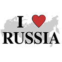 I Love Russia T-shirt