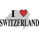 I Love Switzerland T-shirts