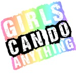Girls Can Do Anything Pastel