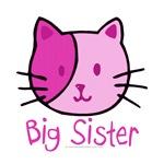 Cat Pink Big Sister