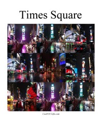 Times Square Collage