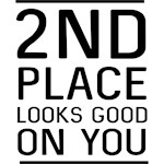2nd Place Looks Good on You
