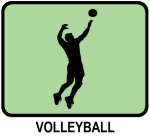Mens Volleyball (GREEN)