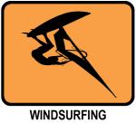 Windsurfing (orange)