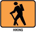 Hiking (orange)