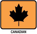 Canadian (orange)