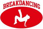 Breakdancing (red circle)