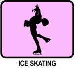 Womens Ice Skating (pink)