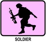 Soldier (pink)
