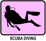 Scuba Diving (pink)
