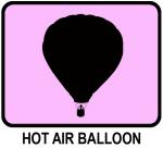 Hot Air Balloon (pink)
