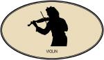 Violin (euro-brown)