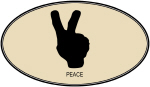 Peace (euro-brown)