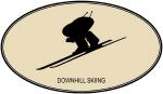 Downhill Skiing (euro-brown)