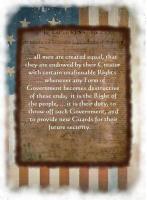 Declaration of Independence - 2 designs!