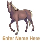 Personalized Horse