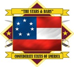 Confederate First National -Stars & Bars